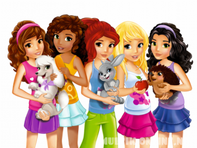 Подружки из Хартлейк Сити / Lego Friends
