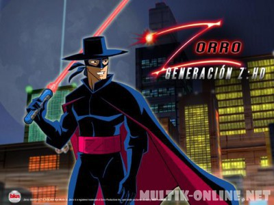 Зорро. Поколение Зет / Zorro: Generation Z - The Animated Series