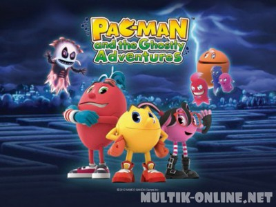 Пакман в мире привидений / Pac-Man and the Ghostly Adventures