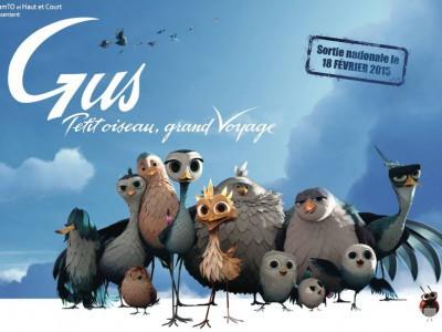 Махни крылом / Gus - Petit oiseau, grand voyage
