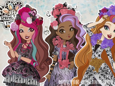 Школа Эвер Афтер Хай: Сказка наизнанку / Ever After High: Spring Unsprung