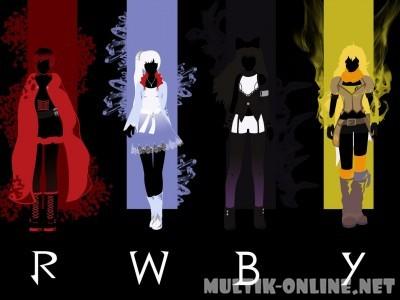 Красный белый чёрный жёлтый / RWBY