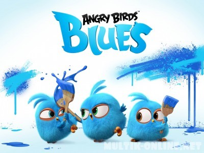 Разгневанные птички в синем / Angry Birds. Blues